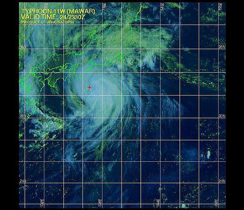 台風シーズン到来 最後