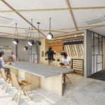 京橋レンタルオフィス_シェアオフィス_ビジネスエアポート京橋_DIY